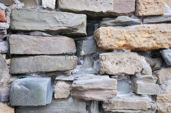 Фотография на тему Старая каменная стена