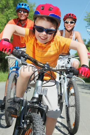 Фотография на тему Счастливые велосипедисты