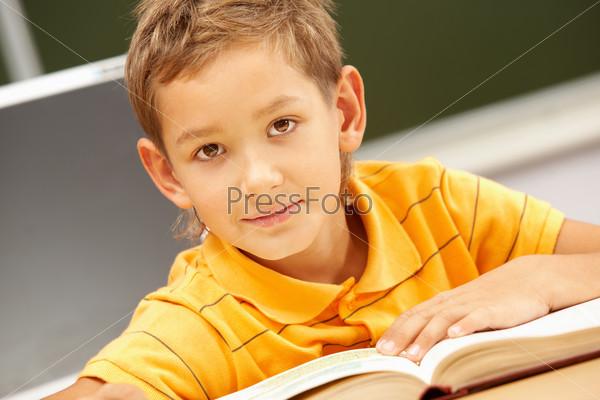 Фотография на тему Юный читатель