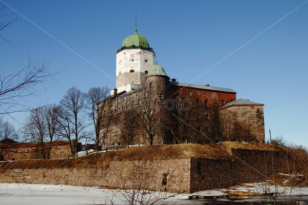 Средневековый замок в Выборге. Старейший в России