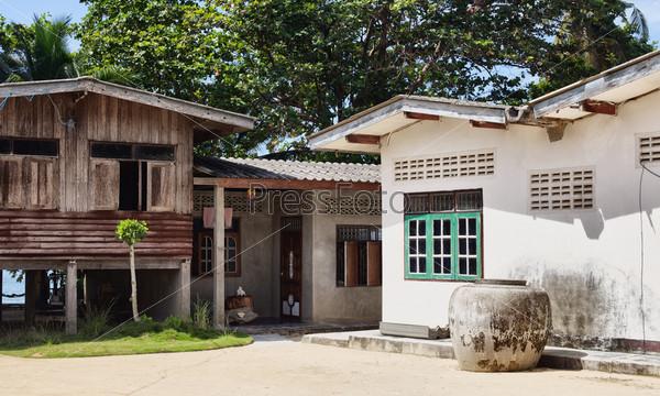 Сельский дом в Краби на юге Таиланда