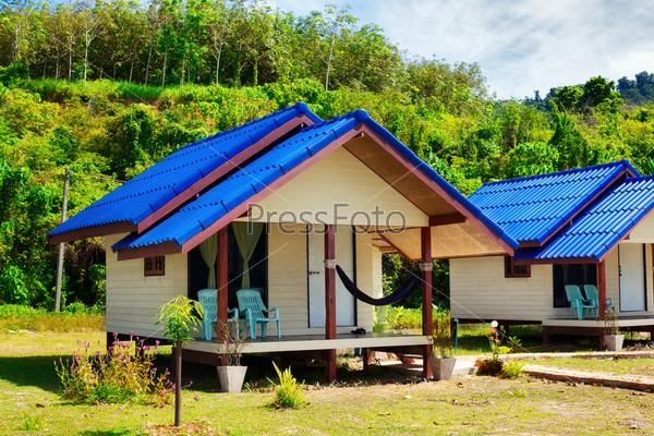 Фотография на тему Курортные бунгало в джунглях, Кох Ланта, Таиланд