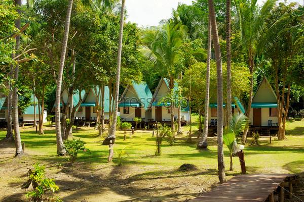 Курортные бунгало в джунглях, Кох Ланта, Таиланд