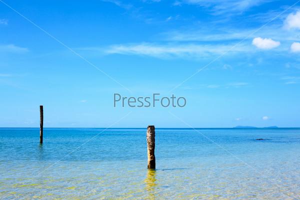 Фотография на тему Андаманское море, Таиланд. Море в солнечный день