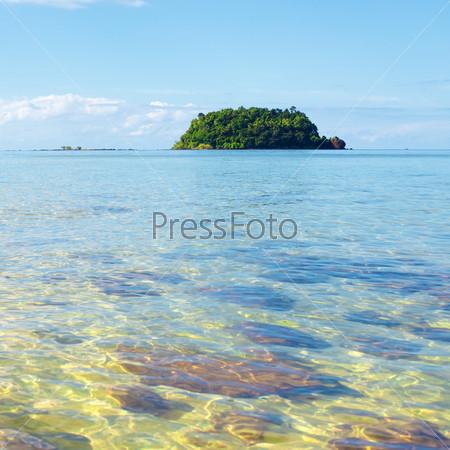 Тропический пляж, Кох Либонг, Андаманское море, Таиланд