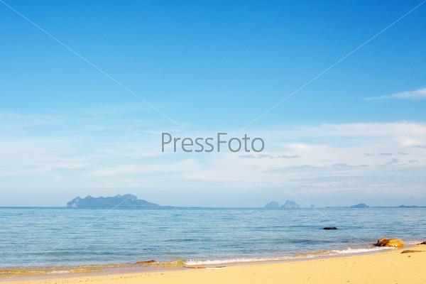 Фотография на тему Тропический пляж, Кох Либонг, Андаманское море, Таиланд