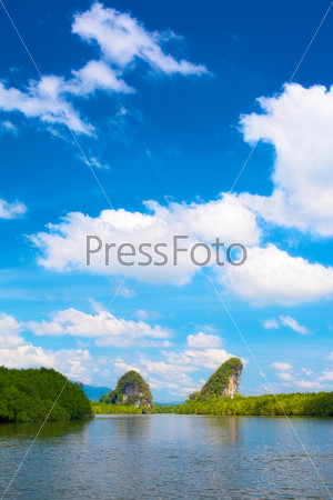 Скалы Канааб Нам в Краби, Таиланд