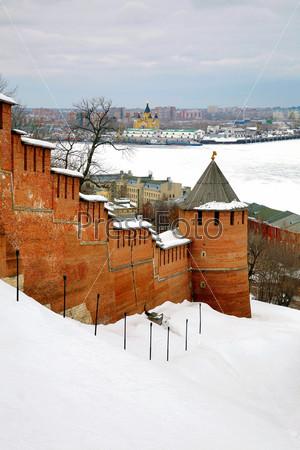 Фотография на тему Нижегородский Кремль, Нижний Новгород, Россия
