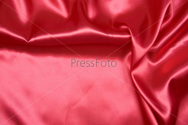 Красный шелковый фон