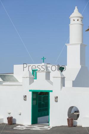 Фотография на тему Церковь на Лансароте, Испания