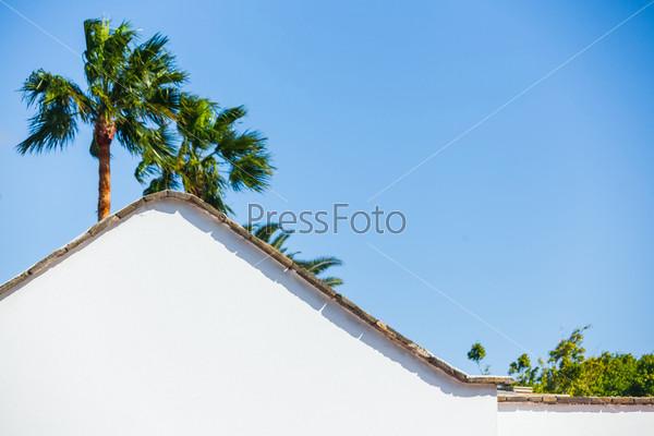 Типичная загородная вилла. Лансароте, Канарские острова, Испания