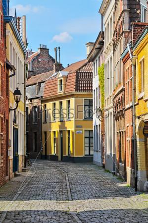 Типичная голландская улица в Делфе