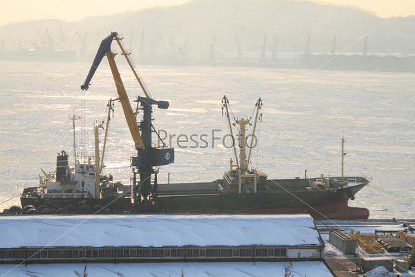 Утро в порту