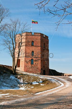 Фотография на тему Западная башня Верхнего замка, Вильнюс