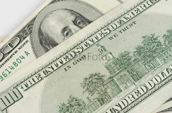 Доллары крупным планом