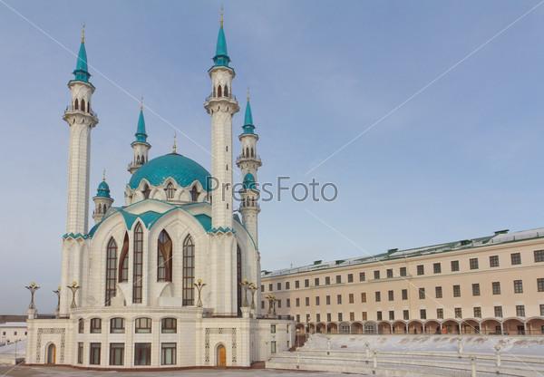 Мечеть Кул Шариф в Казанском Кремле в Татарстане, Россия