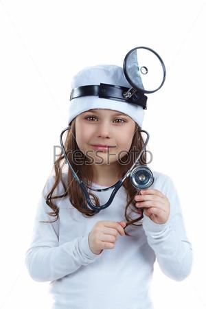Девочка-врач