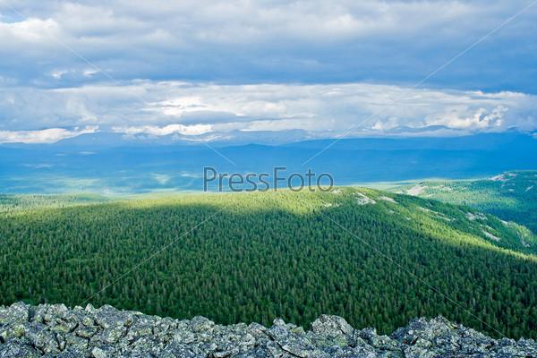 Фотография на тему Тайга на плато Кваркуш, Пермский край