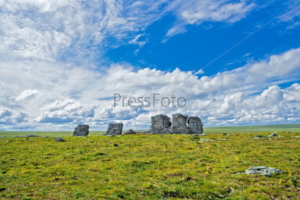 Скалы Три Брата на плато Кваркуш, Пермский край