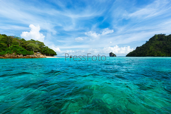 Красивый морской пейзаж, Таиланд