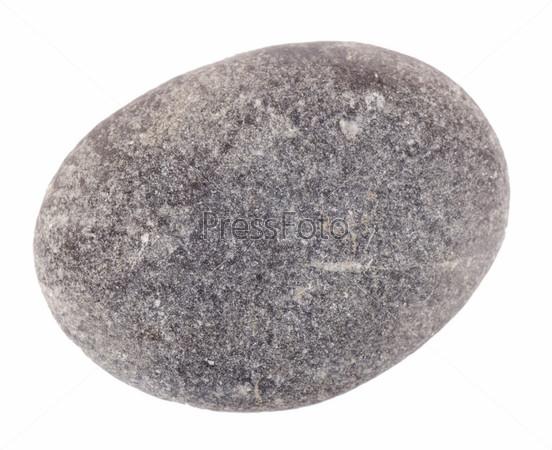 Камень, изолированный на белом фоне