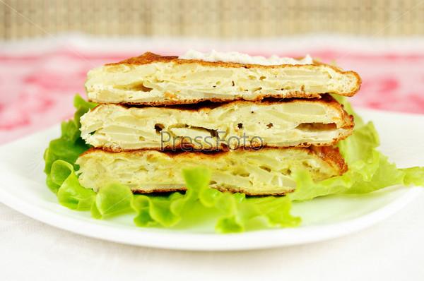 Испанское национальное блюдо тортилья