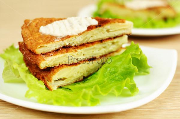 Фотография на тему Испанское национальное блюдо тортилья