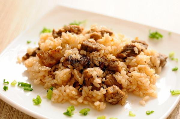 Фотография на тему Вкусный плов с мясом
