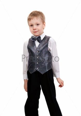 Портрет мальчика в полный рост