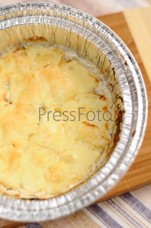Вкусная грибная запеканка с сыром