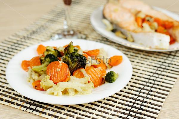 Фотография на тему Вкусные овощи на пару