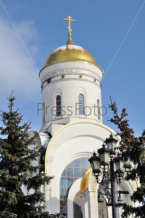 Фотография на тему Церковь Святого Георгия на Поклонной горе в Москве, Россия