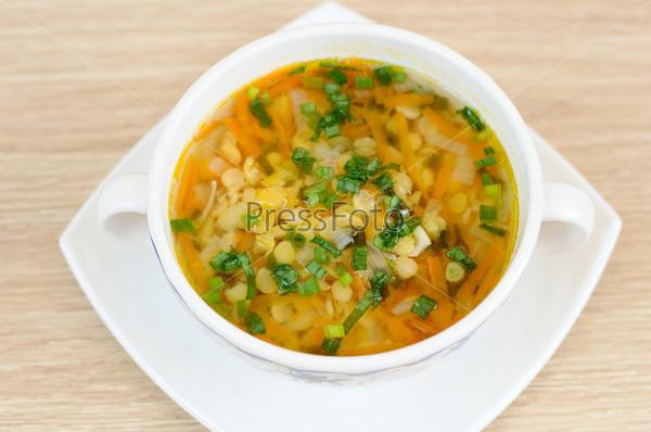 Фотография на тему Вкусный домашний гороховый суп