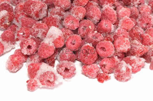 Фотография на тему Замороженные ягоды малины
