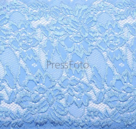 Кружевная ткань на белом фоне