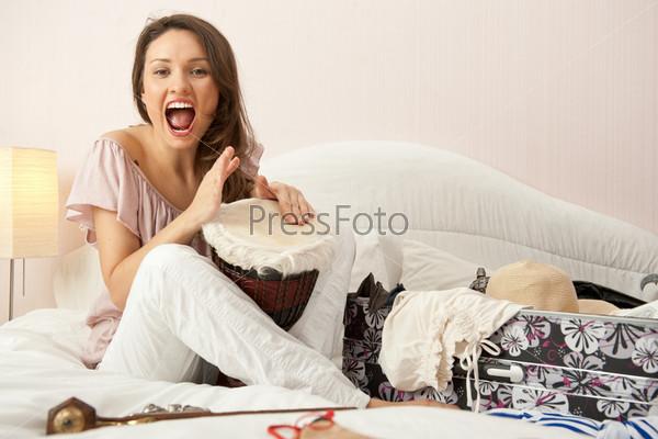 Фотография на тему Портрет молодой красивой девушки
