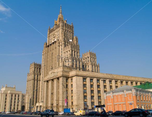 Здание министерства внутренних дел, Москва