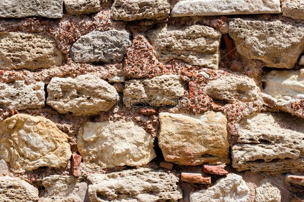 Каменная стена, фон