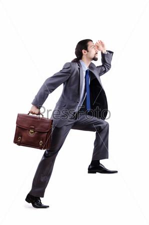 Фотография на тему Молодой человек с портфелем