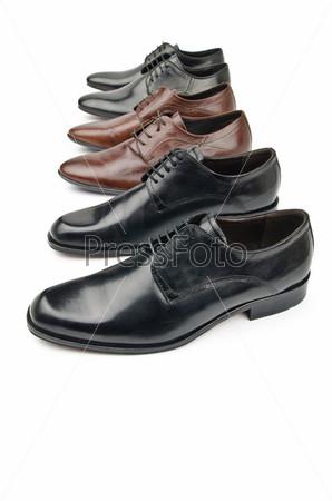 Фотография на тему Мужская обувь, концепция моды