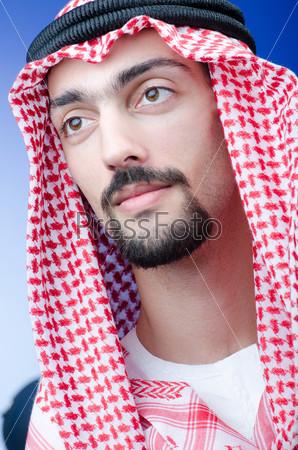 Фотография на тему Портрет молодого араба