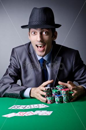 Фотография на тему Игрок в казино