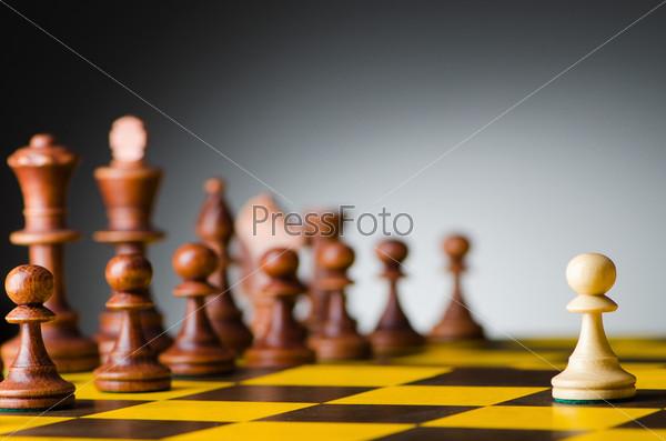 Различные шахматные фигуры