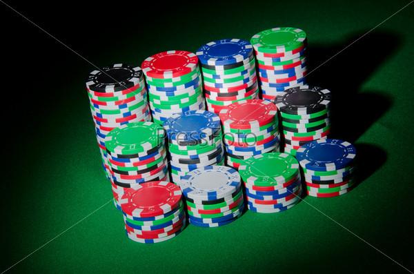 Азартные игры. Фишки