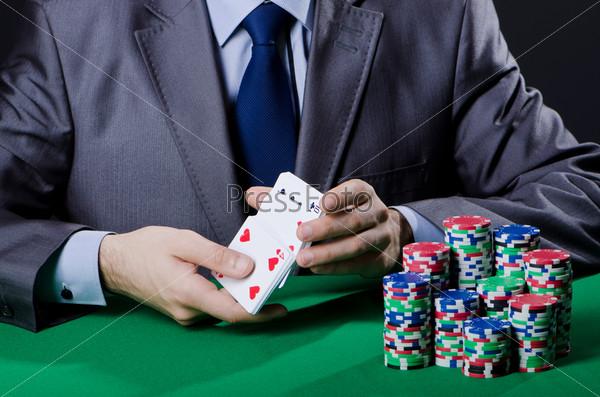 Фотография на тему Мужчина в казино
