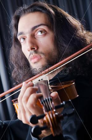 Фотография на тему Молодой скрипач