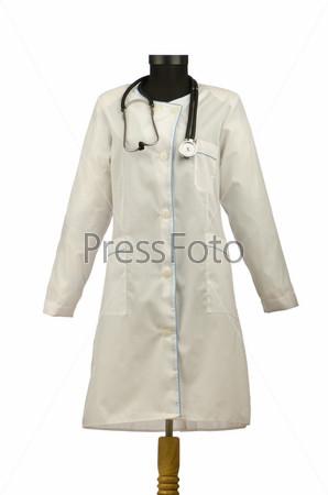 Медицинский халат со стетоскопом