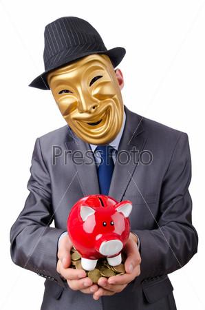 Фотография на тему Предприниматель в маске
