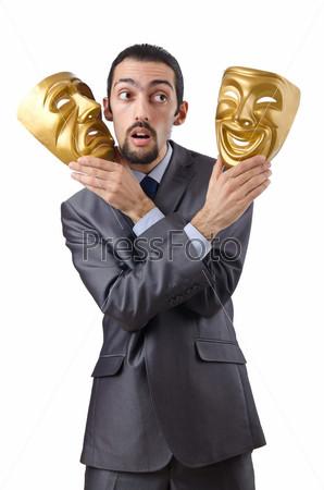 Фотография на тему Предприниматель а масками