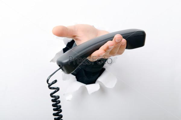 Фотография на тему Рука с телефоном